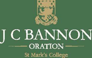 J C Bannon Oration
